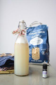 lessive écologique économique et efficace marius-fabre - copeaux savon de marseille
