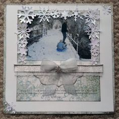 DT member KazC's Layout for the March 2014 Scrapology Challenge. Please see blog for details.