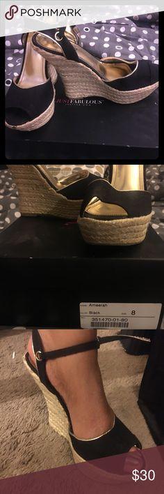 Platform , peep toe sandals