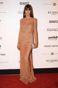 Izabel Goulart in Atelier Versace dress