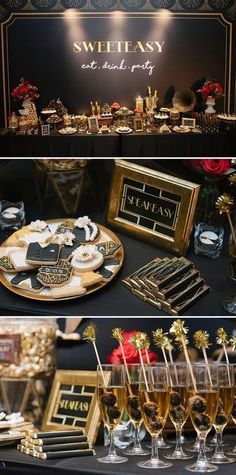 15 Vintage Party Decoration With Great Gatsby Theme That Awesome And Fabulous - Fashiotopia 15 Vintage Party Dekoration Mit Großen Gatsby Thema, Das Genial Und Fabelhaft - Fashiotopia Great Gatsby Themed Party, Great Gatsby Wedding, 1920 Theme Party, Great Gatsby Cake, 1920s Wedding, The Great Gatsby, Gatsby Themed Weddings, Harlem Nights Theme Party, Wedding Ideas
