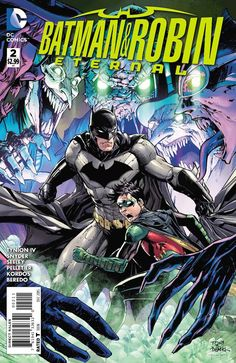 It's here at last-the sequel to the blockbuster weekly series BATMAN ETERNAL! Five years ago, Batman and Robin worked the most disturbing case of their crimefighting careers-bringing down the organiza