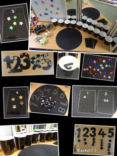 """Opportunities for sorting, counting & pattern making - from Rachel ("""",)"""