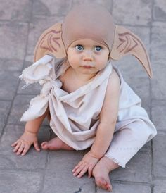 Dress your little one up as Dobby.