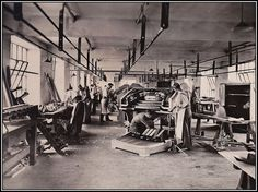 """""""The Wurlitzer factory on Charlton King's Road in Kentish Town, London History, London Theatre, North London, Old Photos, Camden, Cinema, Barnet, Theatres, Cityscapes"""