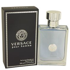 96c77bf30881 Versace Pour Homme for Men 3.4 oz Perfumed Deodorant Spray * You can find  more details