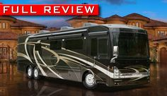 LOVE THIS! Million Dollar Luxury Motorhomes? New Luxury Class A Diesel RVs For Less.-Azaan