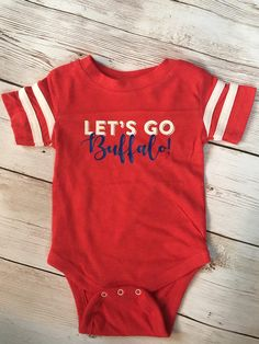 e84646dfb Buffalo Bills Baby Bodysuit. Custom FootballFootball BabyBaby Boy ...