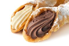 Vanilla & Chocolate Cannoli; Top Chocolate Monday Recipes of 2014 on The Heritage Cook