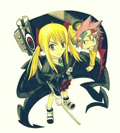 Awesome soul eater cross over with fairy tail!