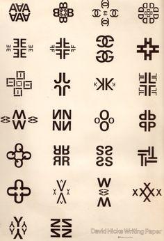 david hicks' alphabet