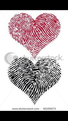 This would be so cute if you did this with your child's fingerprints one day