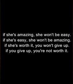 Amazing isn't easy