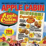 Apple Cabin Foods 2016 Calendar