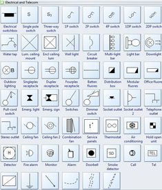 residential electrical wiring symbols wiring diagrams schematic
