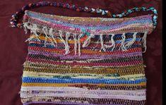 Rag rug bag colorful messenger bag large bohemian tote | Etsy Vintage Fabrics, Large Bags, Silk Flowers, Color Inspiration, Messenger Bag, Diaper Bag, Bohemian, Colorful, Rugs