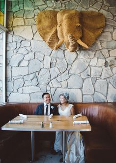 Modern Diy Wedding at the Ace Hotel in Palm Springs, CA. Photography by : My Twin Lens Photography.....To see more go to http://www.mytwinlensphotography.com