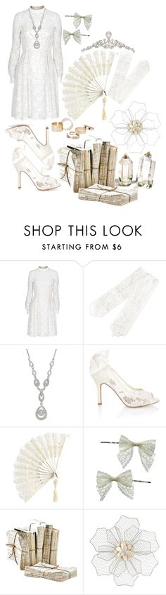"""""""Untitled #926"""" by terri02 ❤ liked on Polyvore featuring Barbara Schwarzer, Wrapped In Love, Monsoon, Miss Selfridge, TIARA, Pier 1 Imports and MANGO"""