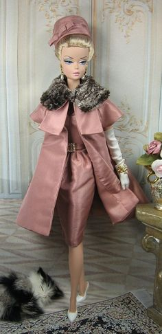 Crown Rose Silkstone Barbie and Victoire Roux by MatisseFashions