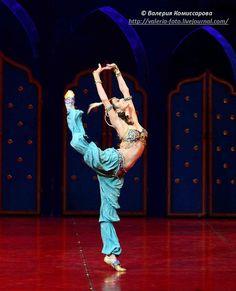 """Yulia Makhalina as """"Zobeide"""" in """"Schéhérazade"""", Mariinsky Ballet"""