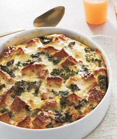 Sausage, Egg, and Kale Strata | These one-dish meals take the stress out of hosting.