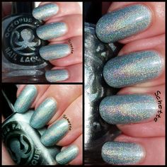 Octopus Party Nail Lacquer Twice as Ice