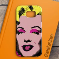 Andy Warhol Marilyn Monroe Pop Art Iconic Colorful Superstar Cute Samsung Galaxy S6 Edge Case | casefantasy