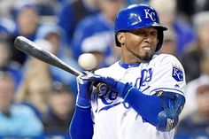 Close call:   The Kansas City Royals' Alcides Escobar takes a pitch high and inside in the sixth inning against the Minnesota Twins on, April 9, at Kauffman Stadium in Kansas City, Mo.   -        © John Sleezer/Kansas City Star/TNS via Getty Images