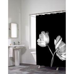 Maytex Mills Tulip Photoreal PEVA Vinyl Shower Curtain - 52135