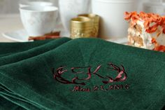 Personalized Wedding Napkins Wedding personalized by MsHomeS