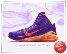sports shoes 1a3b6 6a450 Nike Hyperdunk 2014 653640-588 Hyper Grape Peach Cream Cave Purple Hyper