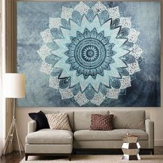 wall Tapestry Black And White - Twin Hippie Tapestry Wall Hanging Indian Mandala Tapestries Bedspread Wall Decor. Bohemian Wall Tapestry, Indian Tapestry, Mandala Tapestry, Tapestry Wall Hanging, Mandala Throw, Wall Hangings, Tapestry Beach, Indian Quilt, Psychedelic Tapestry
