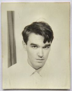 Teenage Morrissey in a photo booth #1