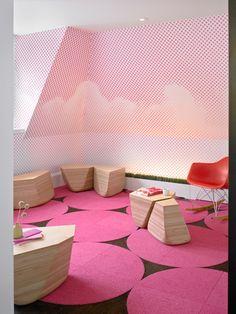Kid's Room / Habitaciones niños Fogscape/Cloudscape by Min | Day , via Behance