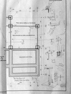 Plano de estudio para fundaciones de vivienda  mail: consultores@arqydis.cl