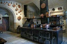 24 Beautiful Dark Kitchens Part 1 Check us out on Fb- Unique Intuitions #uniqueintuitions #steampunk #kitchen