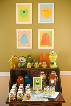 Friendly Monster Party #monster #party