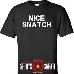 700f2b837fbf54 Funny Nice Snatch Workout Tank Men s Women s Gym by ShirtsBySarah