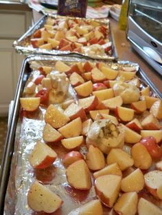 Hello Kirsti: Garlic Roasted Potatoes