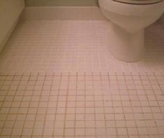 Mix 7 cups of water, 1/2 cup baking soda, 1/3 cup lemon juice and 1/4 cup vinegar. Spray onto dirty grout let sit, and scrub with a brush.