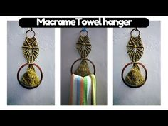 How to make easy macrame Owl / Towel hanger | macrame Art |Easy tutorial in hindi - YouTube