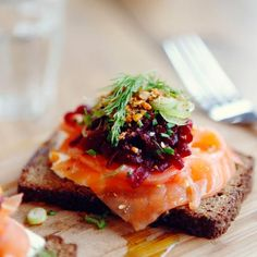When you eat fish like salmon that are high in omega-3 fatty acids, your body increases the amount of the hormone leptin in your system. Leptin is known for suppressing hunger. Don't like salmon? Try tuna and herring, which are also high in omega-3s!
