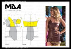 ModelistA: A4 NUM 0116 DRESS