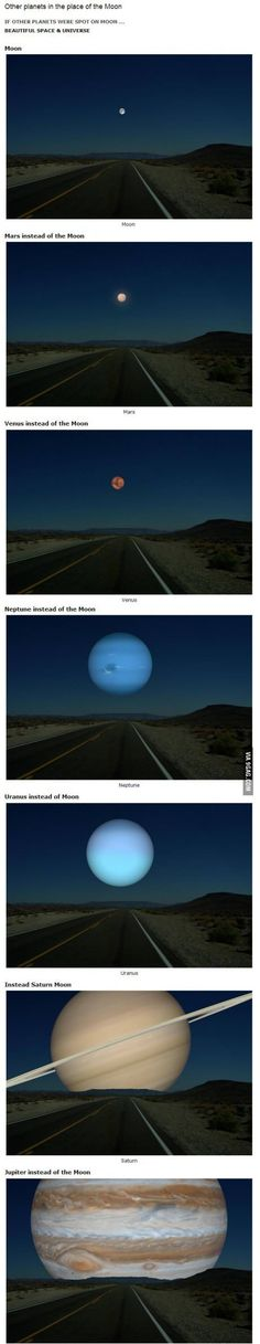 this is scary, yet very fascinating ._. #planets