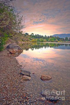 Okanagan Lake, Penticton BC Canada - Tara Turner