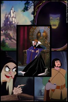 Day 14-Favorite Villain-Evil Queen from Snow White. She is so sinister and evil. She tried to kill her stepdaughter, because Snow White was prettier than her.