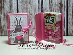 How cute does this look?  What a lovely gift for a friend. Booth #32: Easter Tic…