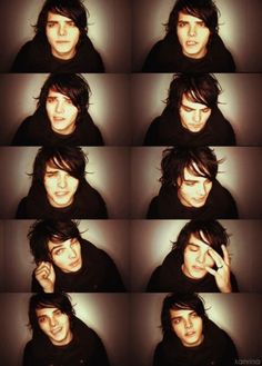 Gerard Way explaining the difference between himself and David Cassidy.