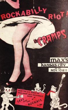 The Cramps with Levi & The Rockats at max's Kansas City (1978)