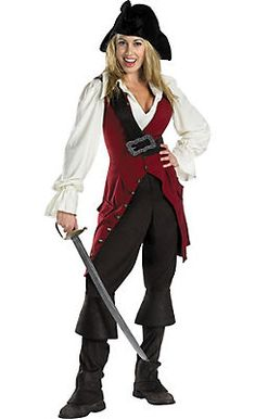 Womens Pirate Costumes - Adult Halloween Pirate Costumes for Women - Party City Canada